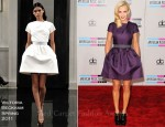 Jenny McCarthy In Victoria Beckham - 2011 American Music Awards
