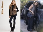 In Jessica Alba's Closet - Ella Ross Arabella Faux Fur Vest