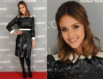 Jessica Alba In Tory Burch - Glamour's 2011 Women Of The Year Awards