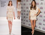 Kate Beckinsale In Tadashi Shoji - 2012 Film Independent Spirit Awards Nominations
