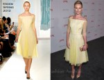 Kate Bosworth In Erdem - LACMA's Art and Film Gala
