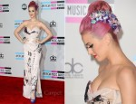 Katy Perry In Vivienne Westwood - 2011 American Music Awards