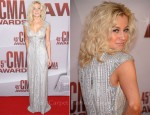 Kellie Pickler In Pamella Roland - 2011 CMA Awards