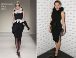 Kelly Brook In Moschino - Cointreau Prive Pop-Up Bar