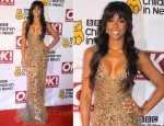 Kelly Rowland In Roberto Cavalli - Children In Need Charity Dinner