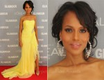 Kerry Washington In Marchesa - Glamour's 2011 Women Of The Year Awards