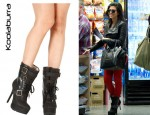 In Kourtney Kardashian's Closet - Koolaburra Jaden Stiletto Biker Boots