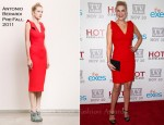 Kristen Johnston In Antonio Berardi - TV Land Holiday Premiere Party