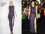 Kristen Stewart In J. Mendel - 'The Twilight Saga: Breaking Dawn - Part 1' LA Premiere