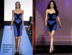 Kristen Stewart In Monique Lhuillier - The Tonight Show With Jay Leno