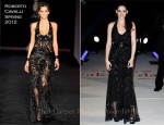 Kristen Stewart In Roberto Cavalli – 'The Twilight Saga: Breaking Dawn – Part 1' London Premiere