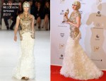 Lady Gaga In Alexander McQueen - 2011 Bambi Awards
