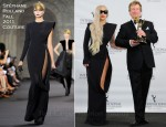Lady Gaga In Stéphane Rolland Couture - 39th International Emmy Awards