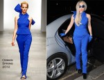 Sidewalk Style: Lady Gaga In Osman...Again