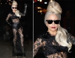 Lady Gaga In Dolce & Gabbana - 'Lady Gaga x Terry Richardson' Book Launch Party