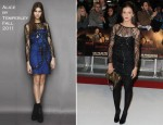 Laura Robson In Alice by Temperley - 'The Twilight Saga: Breaking Dawn: Part 1' London Premiere