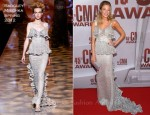 LeAnn Rimes In Badgley Mischka - 2011 CMA Awards