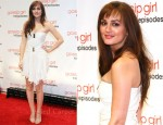 Leighton Meester In Balmain - 'Gossip Girl' Celebrates 100 Episodes