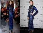 Lily Cole In Tom Ford - Harper's Bazaar Women Of the Year Awards 2011