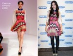 Lily Collins In Carven - 'Seminar' Broadway Opening Night