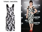 In Lily Collins's Closet - Marc Jacobs Embroidered Dress
