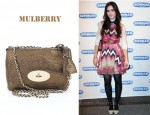 In Lily Collins' Closet - Mulberry Lily Bag