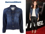 In Mandy Moore's Closet - Current/Elliott Mechanic Jacket