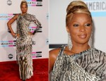 Mary J Blige In Roberto Cavalli - 2011 American Music Awards