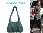 In Megan Fox's Closet - Alexander Wang Donna Hobo Bag