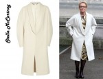 In Meryl Street's Closet - Stella McCartney Oversized Wool Felt Coat