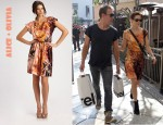 In Michelle Monaghan's Closet - Alice + Olivia Mari Easy Dolman Dress