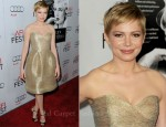 Michelle Williams In Oscar de la Renta - 'My Week With Marilyn' AFI FEST Premiere