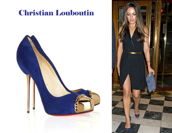 5eb9580ea25 Mila Kunis Christian Louboutin - Red Carpet Fashion Awards