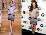 Minka Kelly In Versus - GQ 2011 Men Of The Year Awards