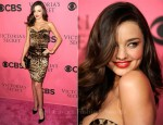 Miranda Kerr In Dolce & Gabbana - Victoria's Secret Fashion Show Viewing Party
