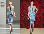 Miranda Kerr In Peter Pilotto - MoMA Film Benefit: A Tribute To Pedro Almodovar