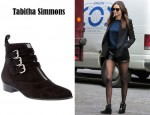 In Miranda Kerr's Closet - Tabitha Simmons Beatles Ankle Boots