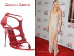 In Naomi Watts's Closet - Giuseppe Zanotti Crystal Embellished Shoe