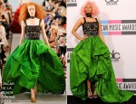 Nicki Minaj In Oscar de la Renta - 2011 American Music Awards