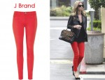 In Nicky Hilton's Closet - J Brand 811 Mid-Rise Twill Cropped Skinny Jeans and Rebecca Minkoff Covet Bag