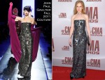 Nicole Kidman In Jean Paul Gaultier Couture - 2011 CMA Awards