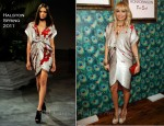 Nicole Richie In Halston - House Of Harlow 1960 Holiday Pop-Up Unveiling