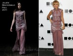 Nicole Richie In Julien Macdonald - 2011 MOCA Gala