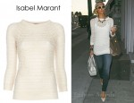 In Paris Hilton's Closet - Isabel Marant Hole Jumper