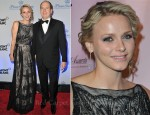Princess Charlene of Monaco In Christian Dior - Princess Grace Foundation Annual Gala