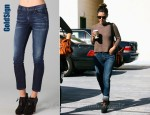 In Rachel Bilson's Closet - GoldSign Jenny High Rise Slim Leg Jeans