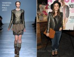 Rachel Bilson In Vanessa Bruno - NYLON November Issue Party