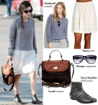 Steal Her Style: Rachel Bilson's Comfy-Casual