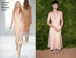 Rooney Mara In Calvin Klein - 2011 CFDA/Vogue Fashion Fund Awards