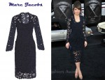 In Rose Byrne's Closet - Marc Jacob Lace Dress